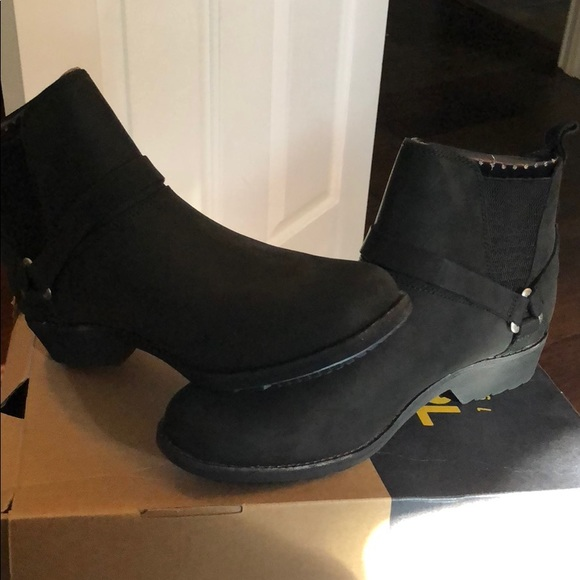 989b258ed9291 Teva W De La Vina Dos Chelsea Boots 9.5 Black